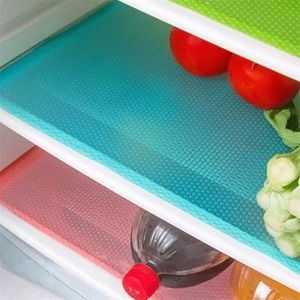 Image 1 - Антибактериальное украшение из 4 предметов, можно разрезать, противообрастающее, противоскользящее, гигроскопическое, плесень, легко моется, коврик для холодильника