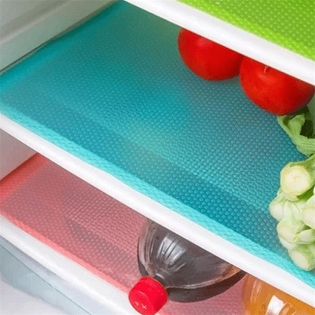 Антибактериальное украшение из 4 предметов, можно разрезать, противообрастающее, противоскользящее, гигроскопическое, плесень, легко моется, коврик для холодильника