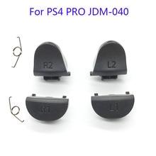 20 セット JDS 040 JDM 040 コントローラトリガーボタン交換 L1 R1 L2 R2 と春 PS4 プロコントローラ修理部品