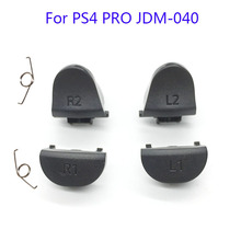 20Sets JDS 040 JDM 040 Controller Trigger Button Replacement L1 R1 L2 R2 with Spring For PS4 Pro controller Repair Part