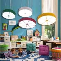 Дети лампы подвесные светильники, orange lemon мультфильм свет светодиодный детская комната Для мальчиков и девочек детской комнате ET80