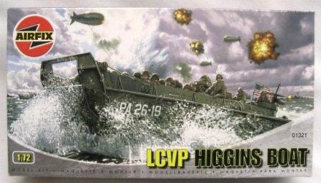 Airfix 01321 1 76 LCVP Landing Craft plastic model kit