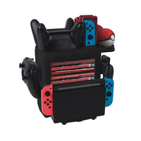 Multifunction Storage Bracket Charger Charging Stand for Nintendo Switch Pro Gamepad