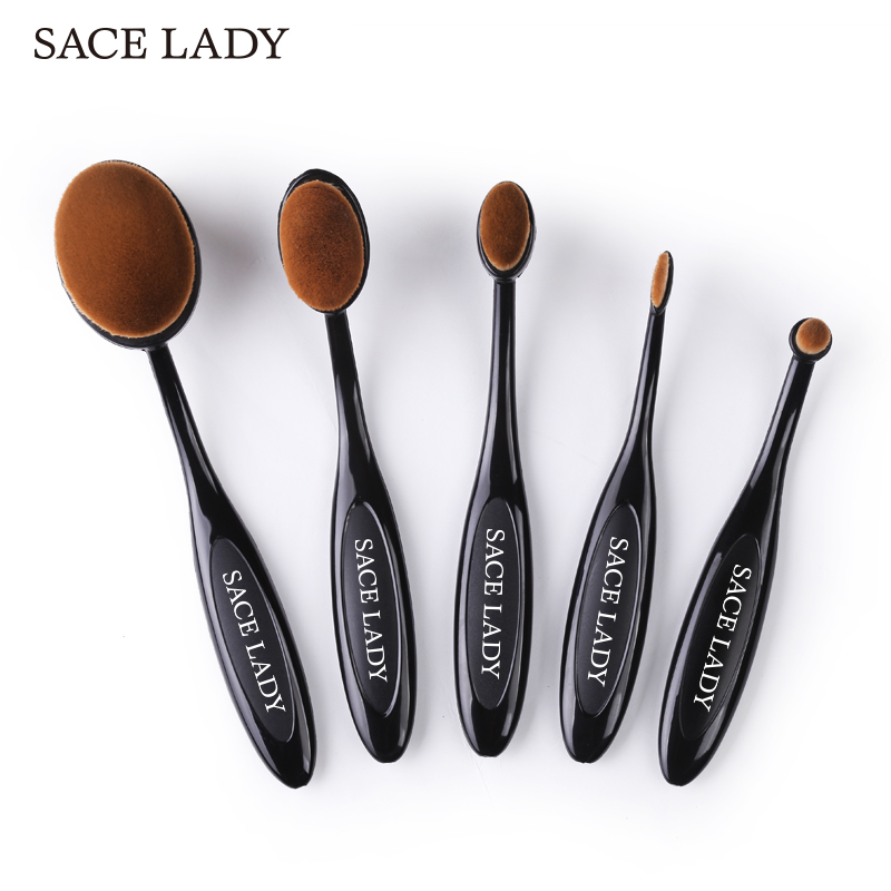 SACE LADY Makeup Brushes Set Foundation Toothbrush Highlighter Brush Kit Eyeshadow Eyeliner Powder Make Up Brand Tool Cosmetic high quality 24pcs makeup brushes set cosmetic make up brush tool kit fan foundation powder eyeliner brushes with leather case