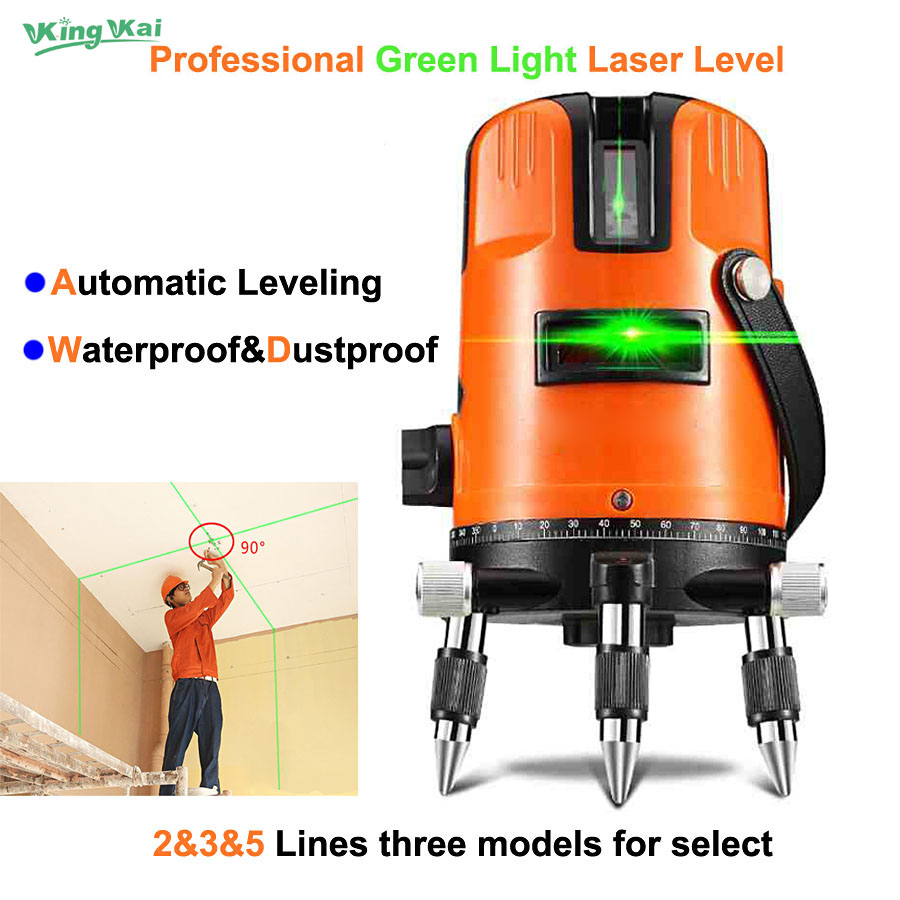 2 3 5 Lines Points Green Laser Lines Upgrade Decoration 360 Rotary Wall Multi Line Automatic Self-Leveling Laser Level thyssen parts leveling sensor yg 39g1k door zone switch leveling photoelectric sensors