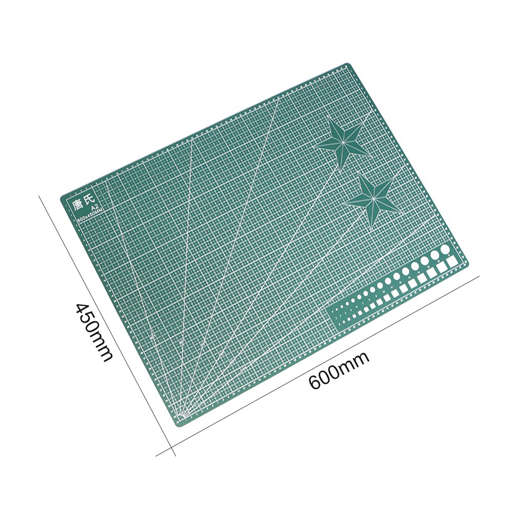 A2/A3/A4 Double-Sided PVC Cutting Mat Durable Self-healing Cut Pad Patchwork Tools Handmade DIY Accessory Cutting Plate Sale