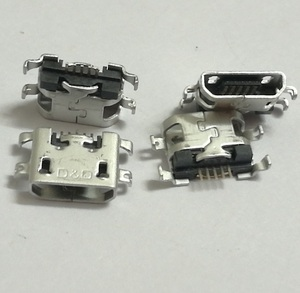 50pcs/lot Micro mini 5P 5-pin USB jack for Lenovo zte D10 Sink Type Charging Charger Port Connector Dock plug Socket