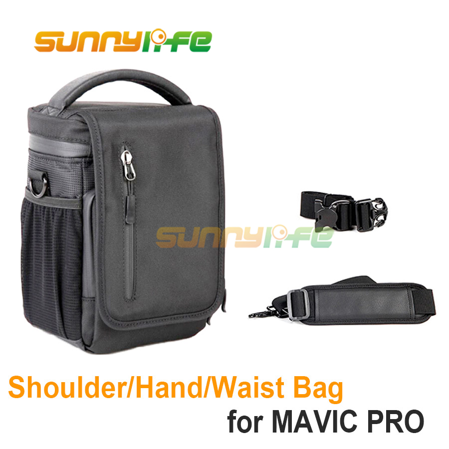 Waterproof Waist Bag Single Shoulder Bag for DJI Mavic 2 PRO & ZOOM & Mavic PRO Drone Body Case Battery Remote Control Hand bag стоимость