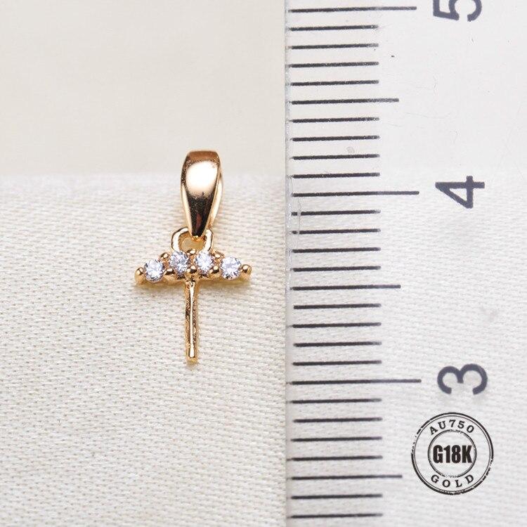 Connecteur pendentif en or jaune 18 k solide, capuchon de tasse et de cheville pour collier, boucle d'oreille, bijoux en argent sterling, 1 pièce