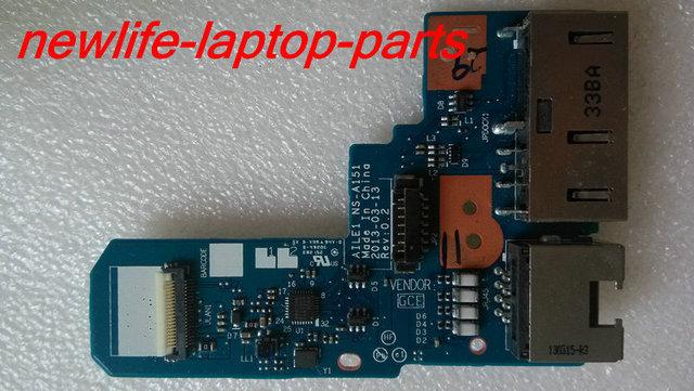 Original para E440 dc jack poder Ethernet RJ45 placa AIEL1 NS-A151 bom teste frete grátis