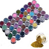 Professional 45 Colors Nail Art Powder Dust Make Up Shinny Shimmer Glitter Nails Decoration Tips Set
