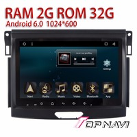 Topnavi Auto GPS Multimedia for Ford Everest 2015 9'' Automotive Android 6.0 DDR3 2GB RAM No DVD with Free Reverse Camera