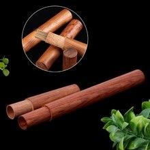 Ручной работы натуральное дерево ладан палочка держатель трубки домашние ароматы для здоровья сна