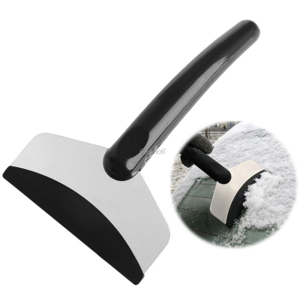 New Useful Car Windshield Snow Removal Scraper Ice Shovel Window Cleaning Tool DropShip