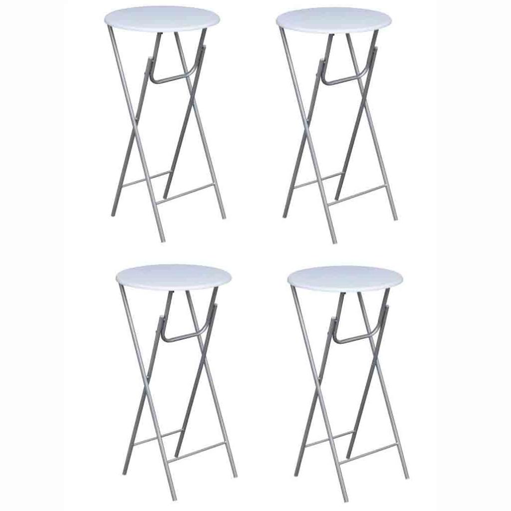 Statafel Met Krukken Action.Ikayaa Set Of 4 High Bar Stoors Bar Furniture Es Stock In