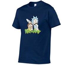 2019 New Rick And Morty Casual Men madam Tees Funny Design Digital Printing 100% Cotton T Shirts Top Custom Tees Anime T-shirt платье madam t madam t mp002xw13281