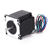 1pc 4 Lead Wires Nema 23 Stepper Motor 24V 1.8Degree 56mm Single Shaft Motors For 3D Printer