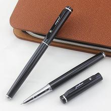 Ручка перьевая jinhao 101 черная матовая чернильная ручка для
