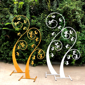 New tieyi sprout contracted creative wedding props screen sprout stage decoration decoration road lead background furnishings.