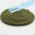 New Hot hot sale colored shoe laces round rope shoelace bootlace brown shoestring