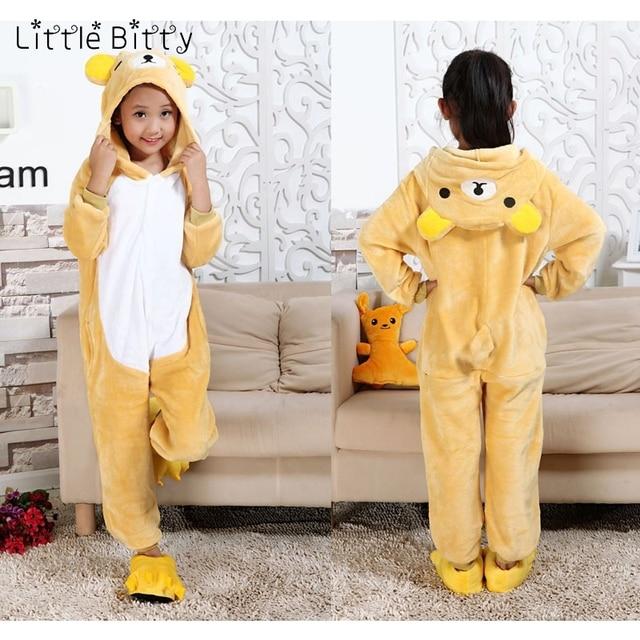 Детские пижамы для маленьких мальчиков и девочек с изображением медведя 92b33d6afe88b