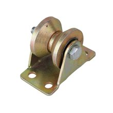 1,2 дюйма 45# сталь V Sahpe паз жесткий шкив колеса для промышленных тележек 200 кг
