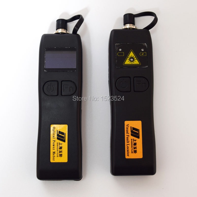 CATV YJ320C 50 26dBm Mini Handheld Optical Power Meter YJ200P Fiber Optic Visual Fault Locator 10mw