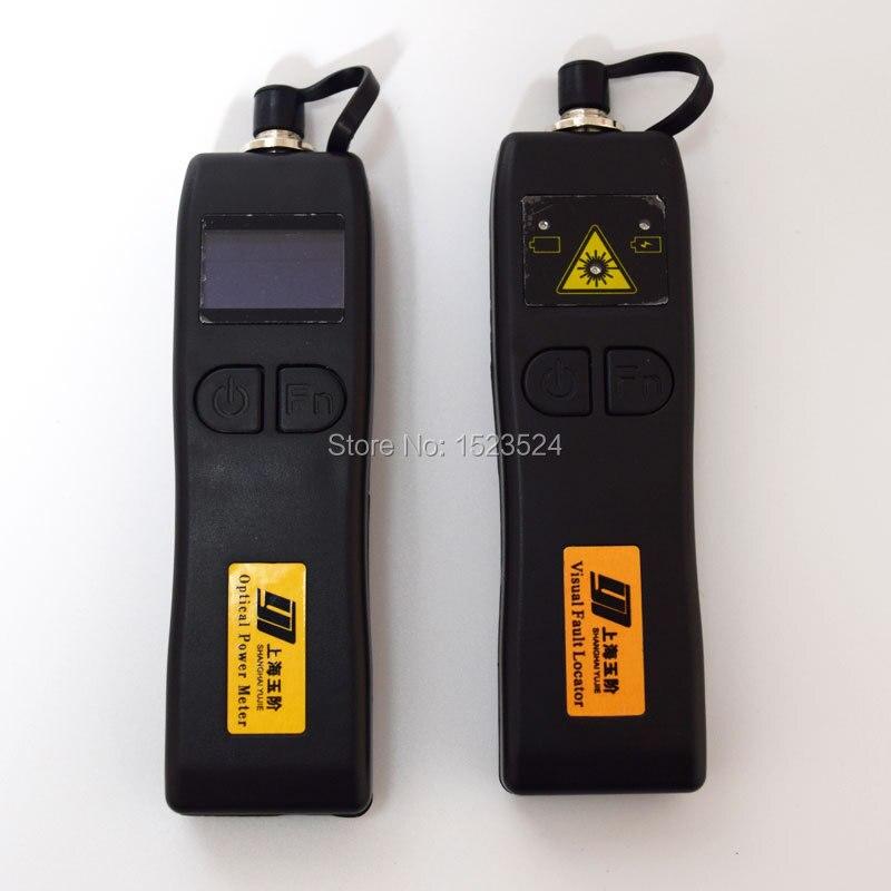 bilder für CATV YJ320C-50 ~ + 26dBm Mini Handheld Optischen Leistungsmesser + YJ200P Glasfaser-visuelle Fehlersuch 10 mw