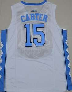46137b626e0185 ... spain low cost vince carter 15 north carolina tar heels retro throwback  college basketball jerseys mens