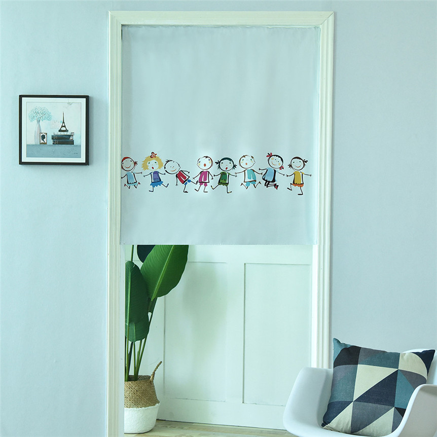 Kitchen Curtain Kids Design Door/Cafe/Restaurant Kitchen