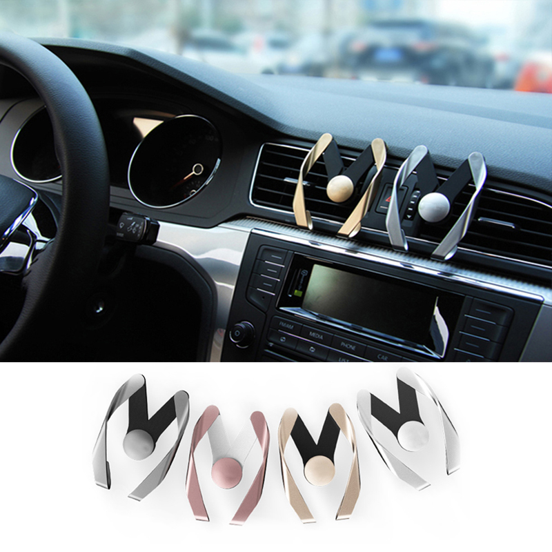 Car Styling auto Phone Air Vent Stand Mount for mitsubishi lancer asx outlander l200 lancer 10 yuzhe auto automobiles leather car seat cover for mitsubishi lancer 10 outlander 2017 pajero eclipse asx car accessories styling