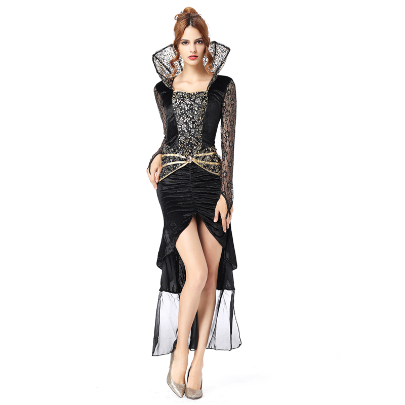 Witch costume adult <font><b>sexy</b></font> <font><b>halloween</b></font> costumes for women Scary Costumes <font><b>dress</b></font> vampire costume women princess cosplay fancy <font><b>dress</b></font> image