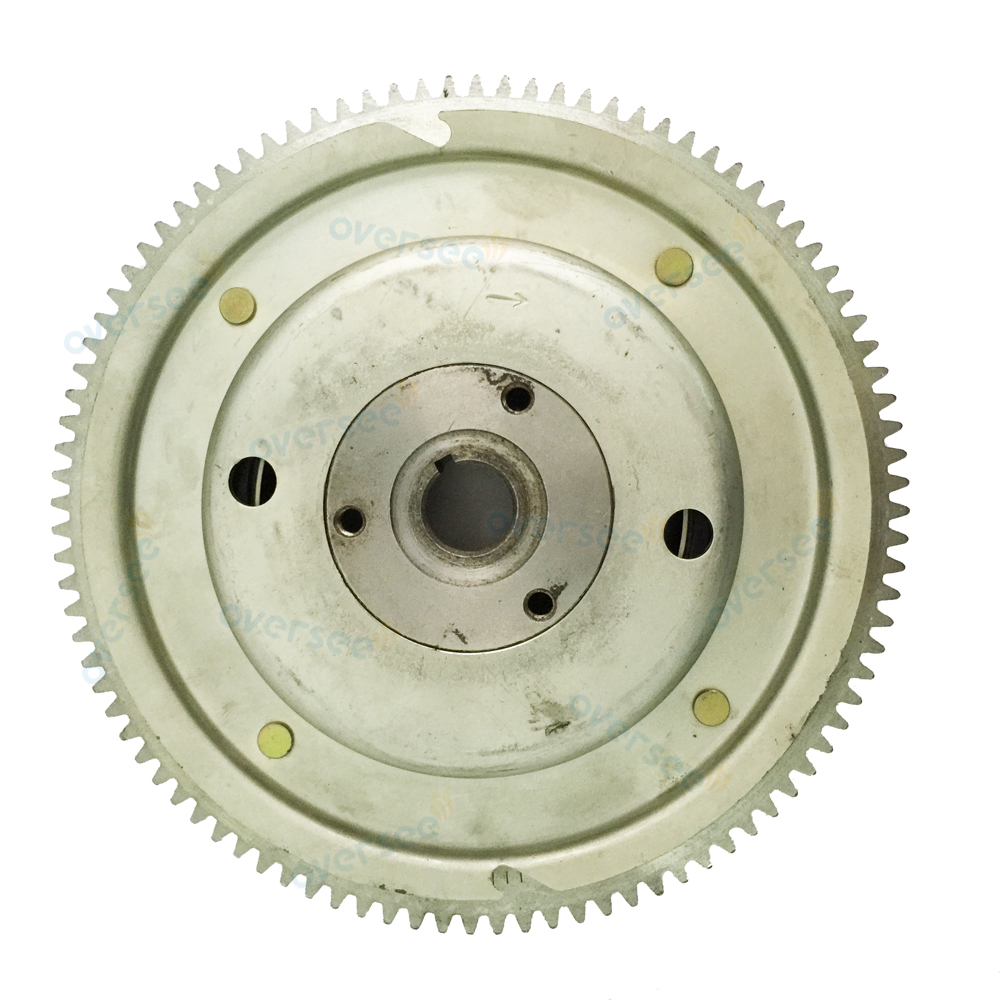OVERSEE 60HP 70HP Flywheel Rotor 6K5-85550-A0-00 For Fitting Parsu Yamaha Outboard Engine 60HP 6K5  0