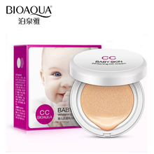 BIOAQUA Brand Baby Skin Air Cushion BB CC Cream Makeup Base Whitening Concealer Moisturizing Hyaluronic Acid