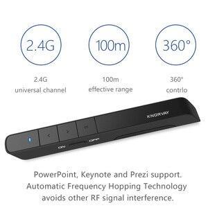 Image 4 - 2.4Ghz Usb Rf Wireless Presenter Handheld Pointer Ppt Afstandsbediening Met Rode Laser Pointer Pen Voor Power Point Presentatie