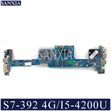 KEFU 12302-1 Laptop motherboard for Acer S7-392 original mainboard 4G-RAM I5-4200U