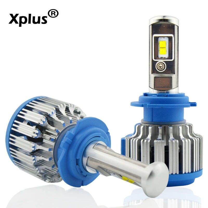 H4 80w high low beam H11 HB3/9005 HB4/9006 H1 H3 9012 H7 LED Auto Bulbs Headlamp 6000K Light car Headlight kit for golf vw ford