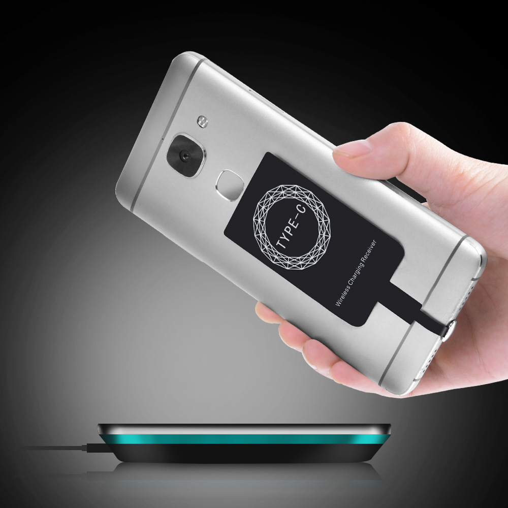 Universal Qi Wireless Charger Receiver Charging Adapter