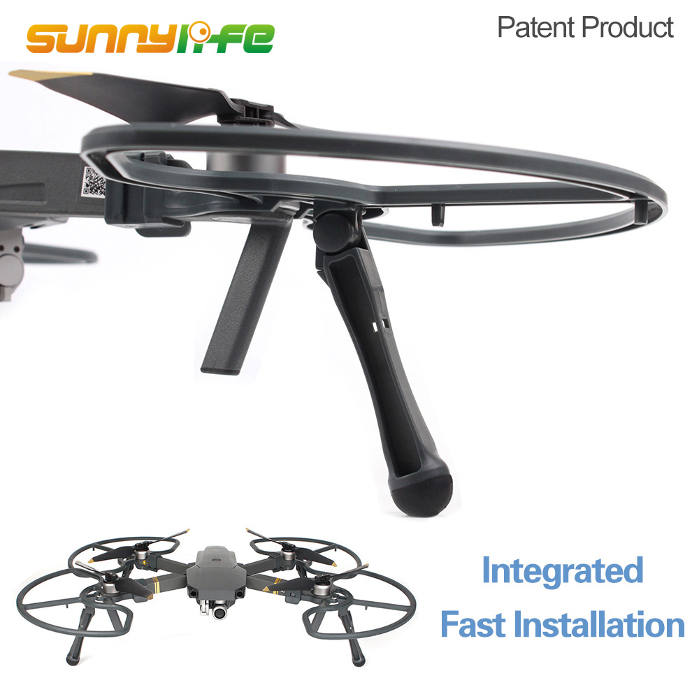 New Arrival 2 in 1 Integrated Landing Gears Stabilizers & Propeller Guards Prop Protectors for DJI MAVIC PRO & PLATINUM & WHITE
