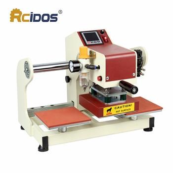 HQD-1515 RCIDOS pneumatic double station heat transfer press 15*15cm,220V T-shirt marks Hot stamping transfer printing machine