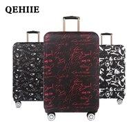 Высокое качество дорожного чемодана упругой Пылезащитный Чехол Дорожный чемодан-тележка Чемодан защиты чемодан защитный чехол