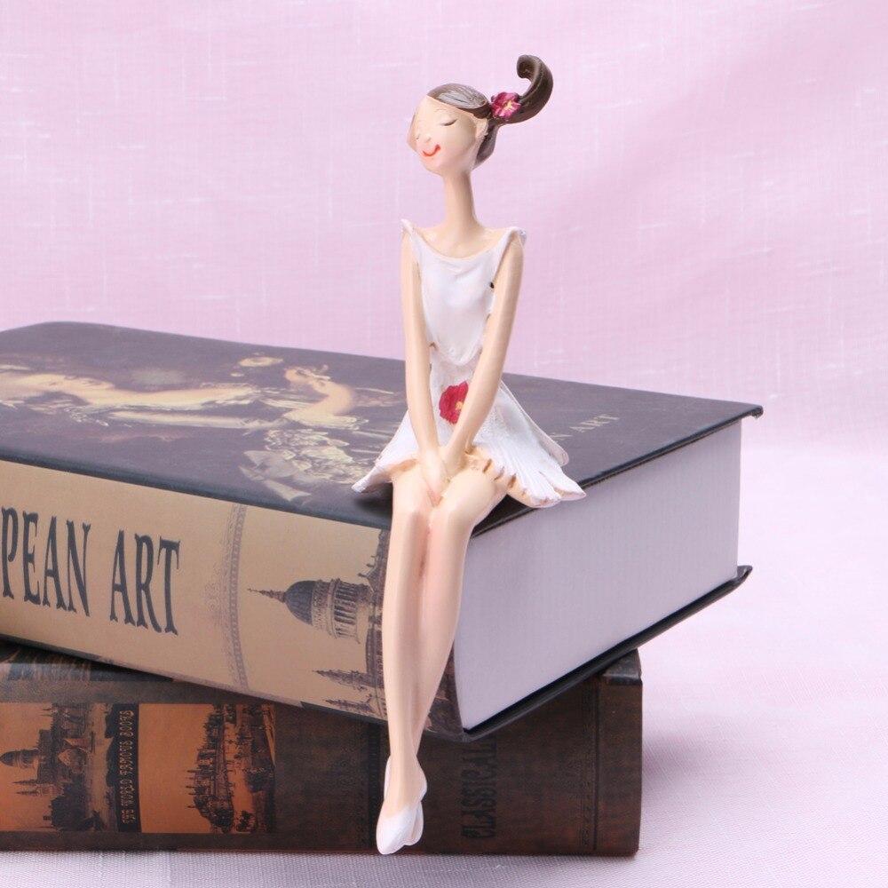 2 pcs /set Cute Angel Resin Crafts Figurines Wedding Gift Fairy ...