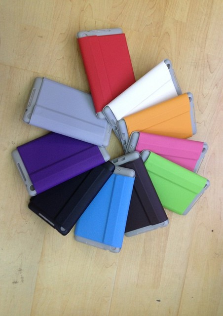 Magnetic Slim PU Leather Case Smart Cover For 2013 ASUS New Nexus 7 2nd Stand Leather Cover Case