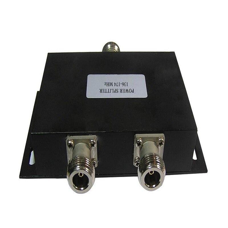 HYS Antenne Puissance Splitter Deux Way Radio Répéteur Diviseur de Puissance à Deux Voies VHF 136-174 MHz