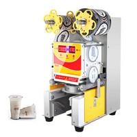 Jamielin Commercial Electric Automatic Cup Sealer Machine Coffee, Milk,Fruit Juice ,Bubble Tea Plastic Cup Sealing Machine