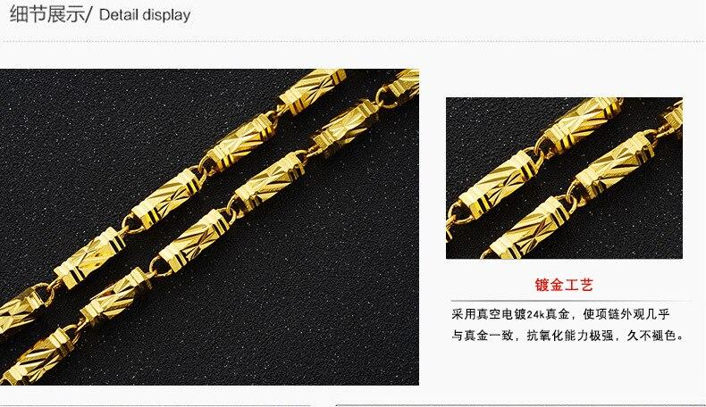de casamento 60 50 45cm articulação de bambu verdadeiro colar nl59