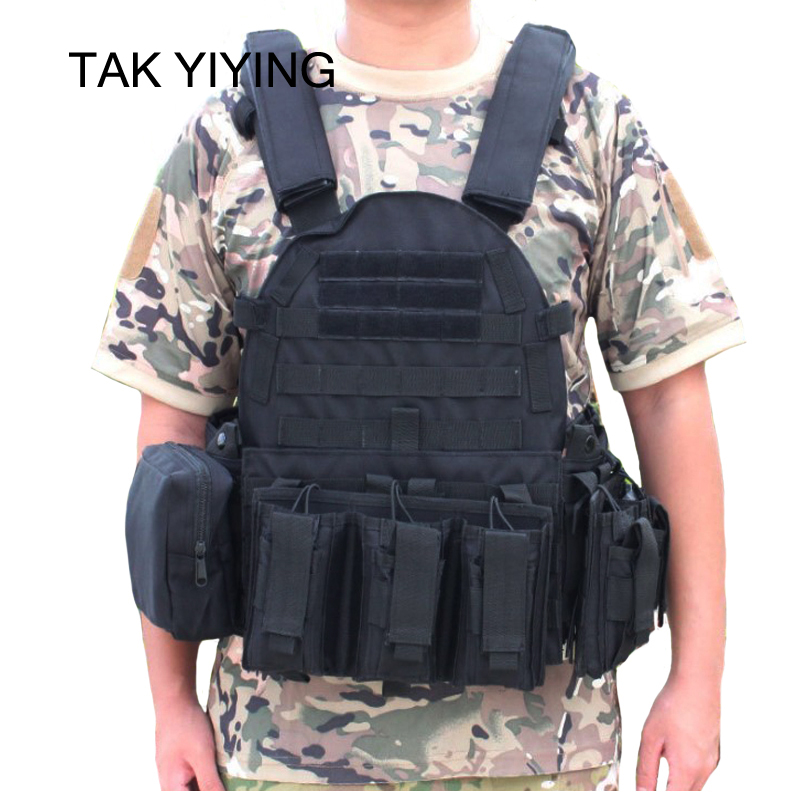 TAK YIYING Tactical Vest Body Armor With Mag Pouches Hunting Airsoft Military Combat Gear transformers tactical vest airsoft paintball vest body armor training cs field protection equipment tactical gear the housing