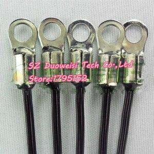 Image 1 - 20 قطعة/الوحدة NTC الثرمستور استشعار درجة الحرارة وحدة 10 كيلو النحاس حلقة قطرها الداخلي 4.2 ملليمتر دقة 1% B قيمة 3950 100 ملليمتر