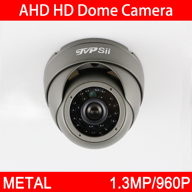 4pcs A Lot 24Pcs Infrared Leds 960P 1.3MP White/Gray Metal Outdoor Waterproof Dome AHD CCTV Security Camera Free Shipping foxriver носки турист 2389 norsk l 06120