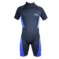 Sports Free Diving Wetsuit 3mm Neoprene Short Pants Sleeves 2016 New Layatone B1619